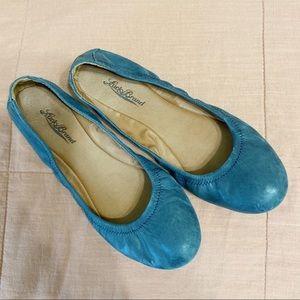 LUCKY BRAND BLUE FLATS 8